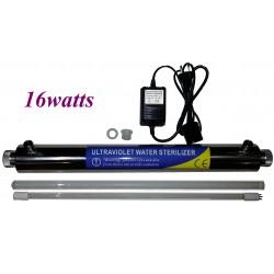 Kit sterilizzazione acqua ultravioletto 16watts