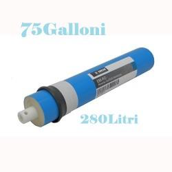 Membrana osmosi inversa per depuratore d'acqua 75 gpd ( galloni) 280 litri