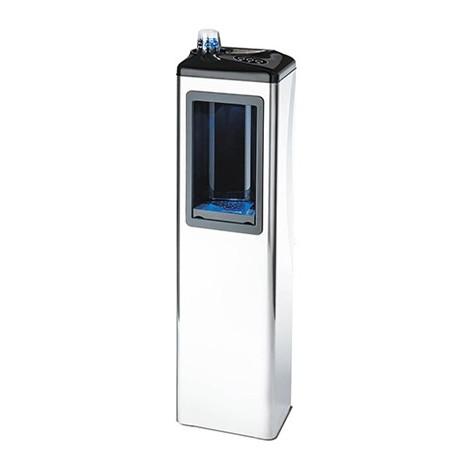Colonnina acqua refrigerante caldo freddo attacco idrico made in italy